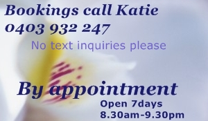 Contact Etiquette Bookings by appointment