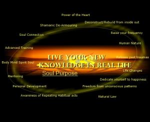 Knowledge hidden Soul Purpose & inner willpower