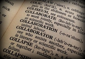 collaboration words