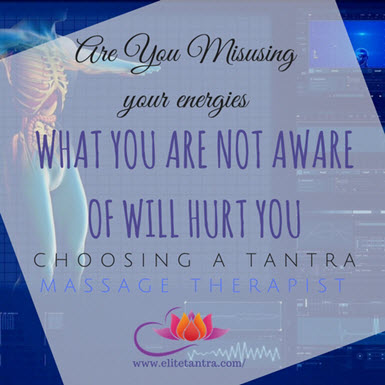 Choosing a Tantra Massage Therapist
