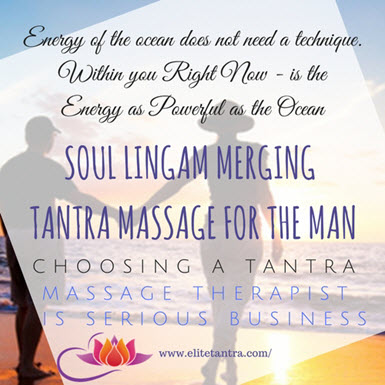 Tantra massage for the man