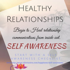 Self Awareness for healthy living